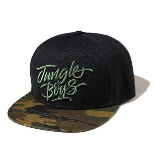 buy jungle boys snapback black