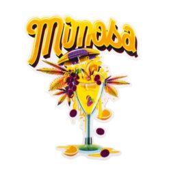 Mimosa Sticker