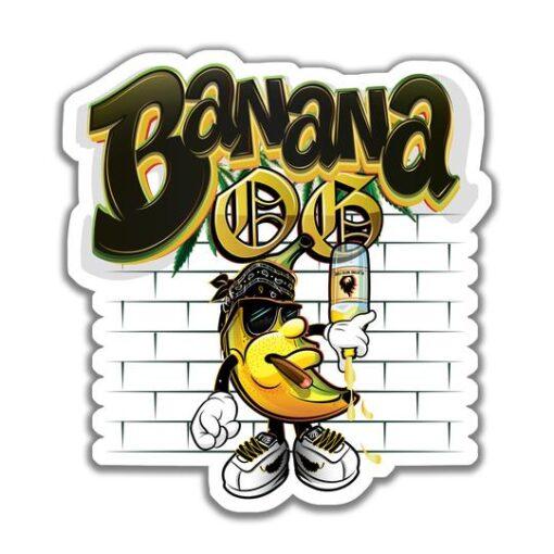 banana og sticker