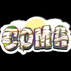 coma sticker