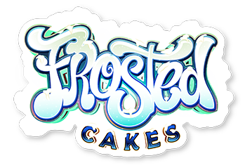 frosted cakes sticker