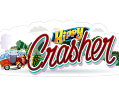 Hippy Crasher Sticker