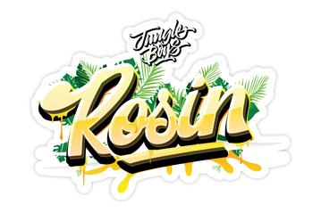 Jungle Boys Rosin Sticker