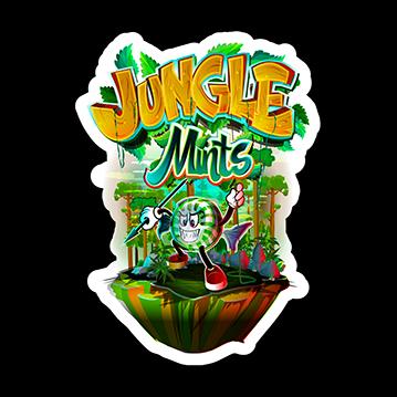 Jungle Mints Sticker