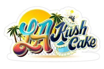 LA Kush Cake Sticker
