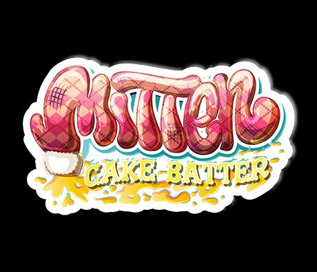 Mitten Cake Batter Sticker