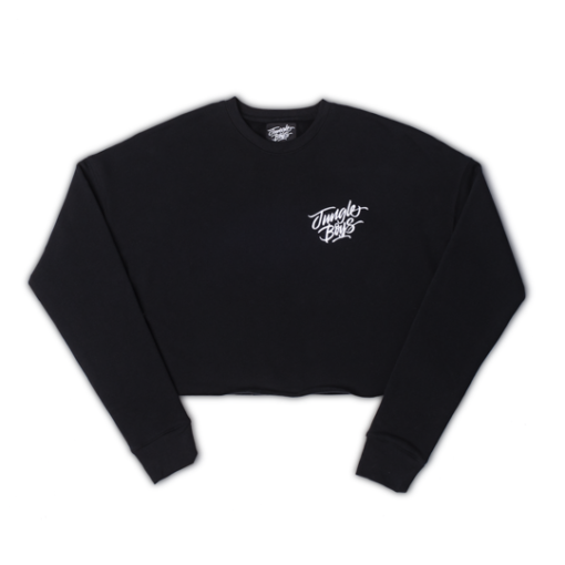 Stacked Cropped Crewneck