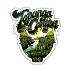 Topanga Canyon OG Sticker