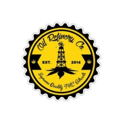 Oil Refinery Co. Sticker