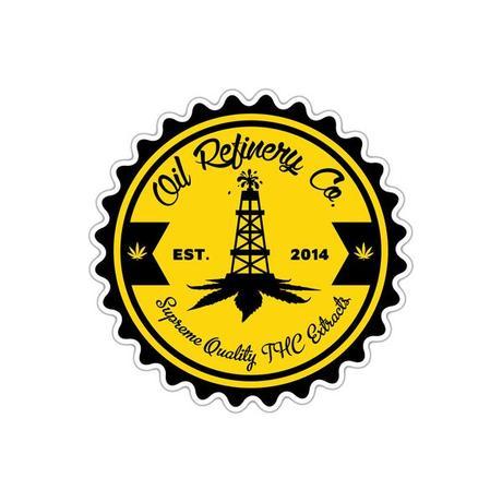 Oil Refinery Co. Sticker