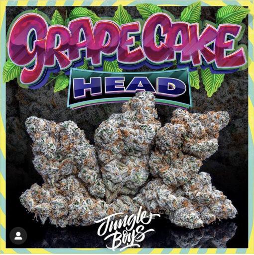 buy grape cake head